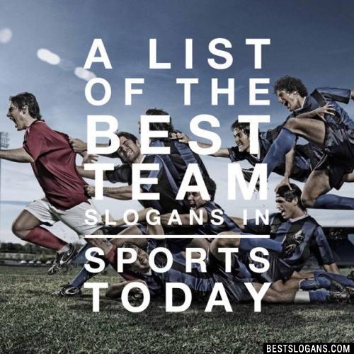 Best Sports Team Slogans
