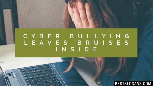 Cyber Bullying Leaves Bruises Inside