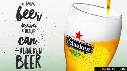 A better beer deserves a better can.