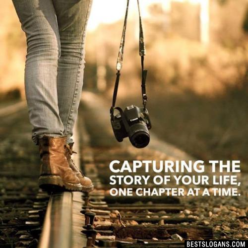Capturing the story of your life, one chapter at a time.
