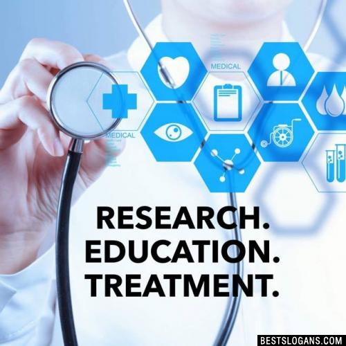 Research. Education. Treatment.