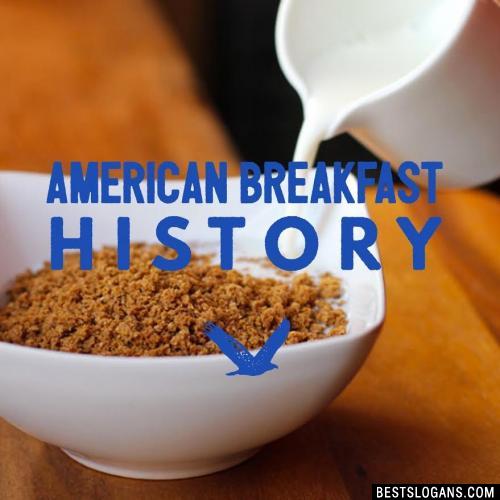 American Breakfast History