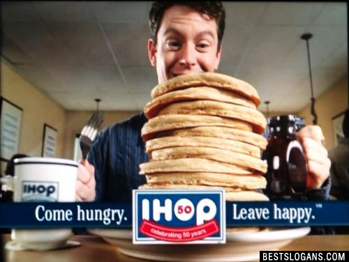 Come hungry. Leave happy.