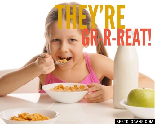They're Gr-r-reat!