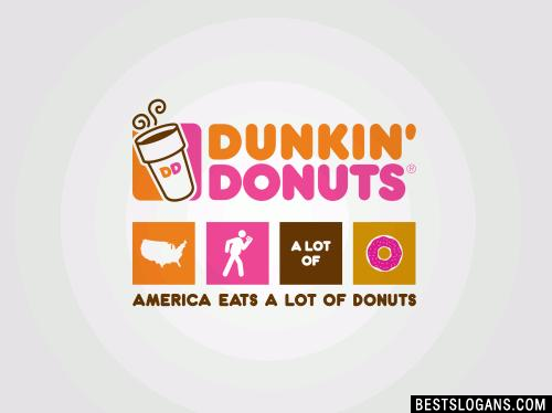 Dunkin' Donuts: America eats a lot of donuts
