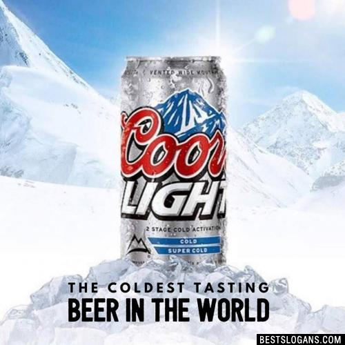 The Coldest Tasting Beer In The World