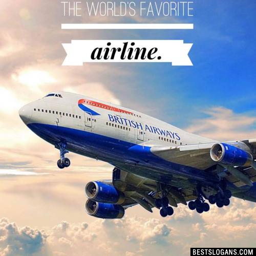 The world's favorite airline.