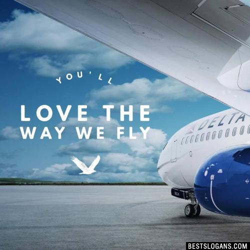 You'll love the way we fly