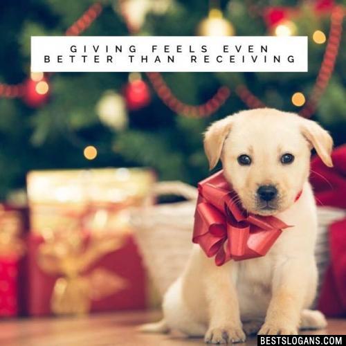 Giving feels even better than receiving