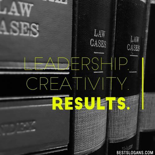 Leadership. Creativity. Results.