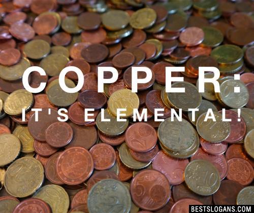 Copper  It's Elemental!