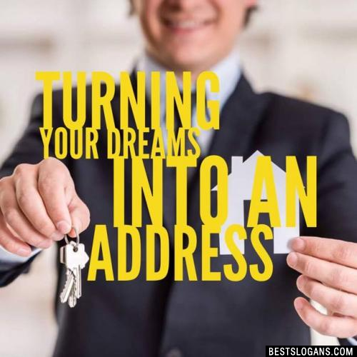 Turning Your Dreams Into an Address