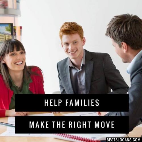 Help Families Make The Right Move