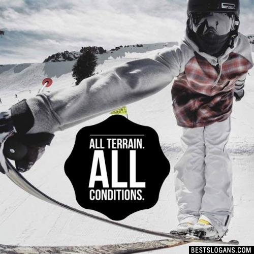 All terrain. All conditions.