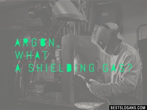 Argon, what a shielding gas?