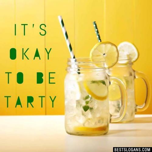 It's okay to be Tarty