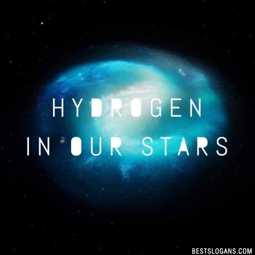 Hydrogen in our stars