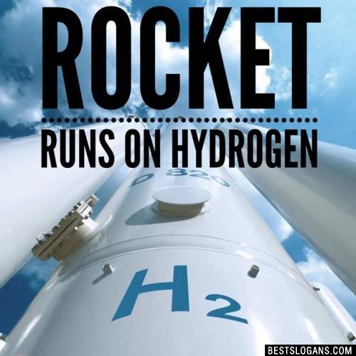 Rocket runs on Hydrogen