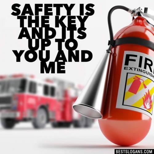 Safety is the key and its up to you and me