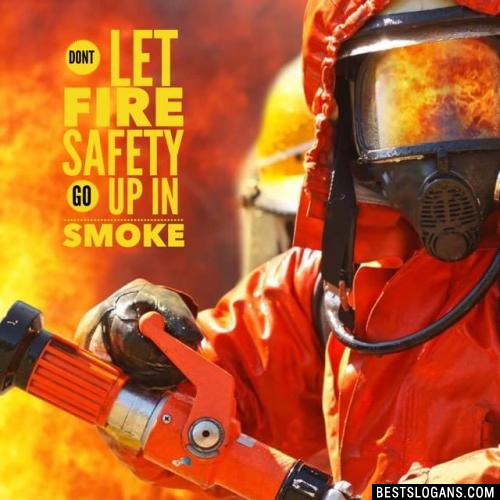 Dont let fire safety go up in smoke