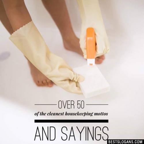 Housekeeping Slogans