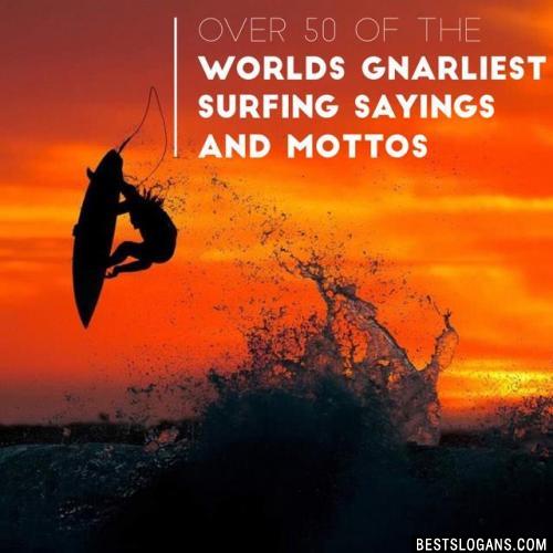 Surfing Slogans