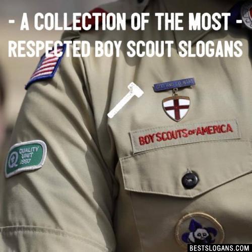 Catchy Boy Scout Slogans Taglines Mottos Business Names Ideas