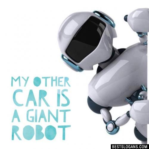 My other car is a giant robot