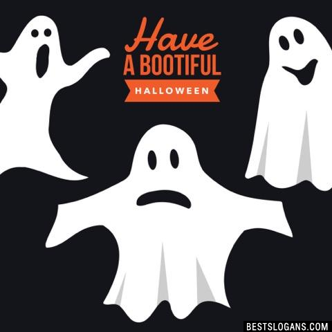 Have a bootiful Halloween