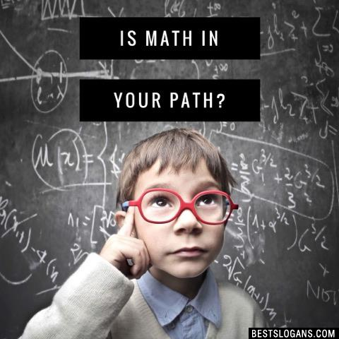 Is Math In Your Path?