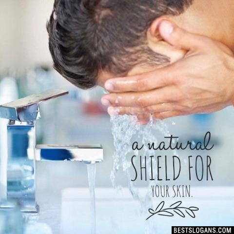 A natural shield for your skin.