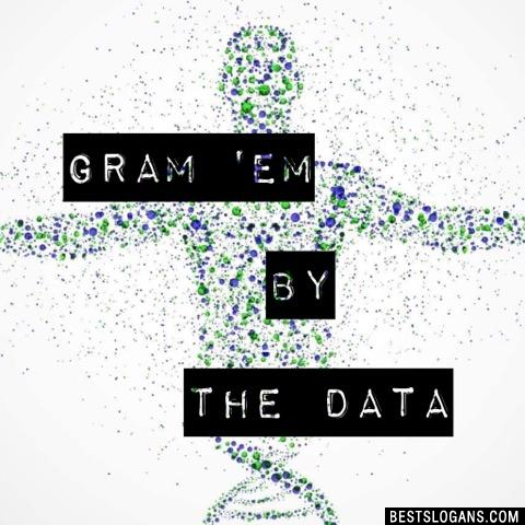 Gram 'em by the data
