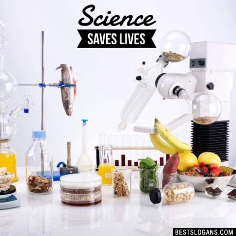 Science saves lives