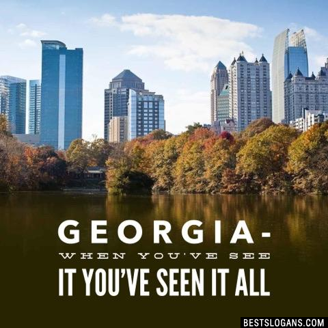 Georgia- When you've see it you've seen it all