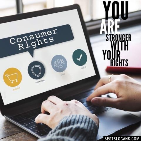 You are stronger with your rights