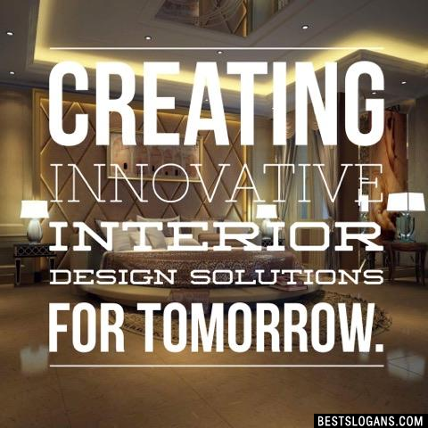 Creating innovative interior design solutions for tomorrow.