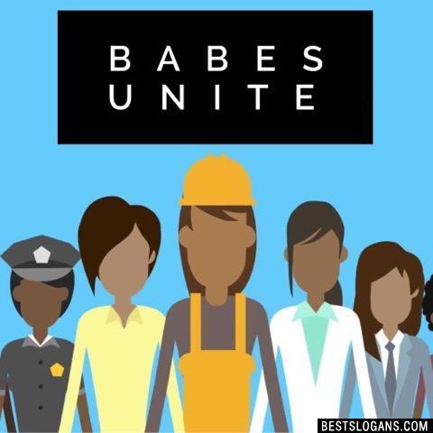 Babes unite