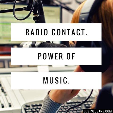 Radio Contact. Power of Music.