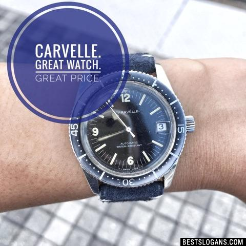 Caravelle. Great watch. Great price.