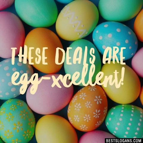 These deals are Egg-xcellent!