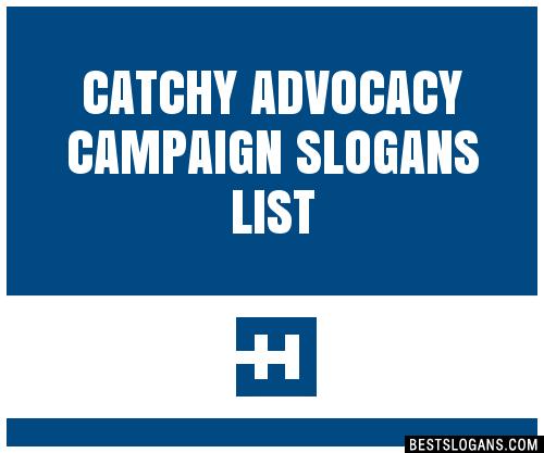 30+ Catchy Advocacy Campaign Slogans List, Taglines ...