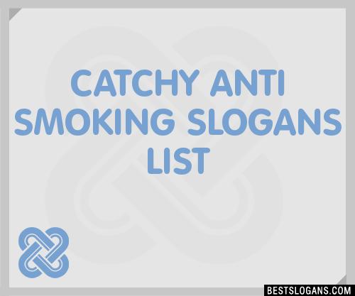 Anti Smoking Quotes: 30+ Catchy Anti Smoking Slogans List, Taglines, Phrases