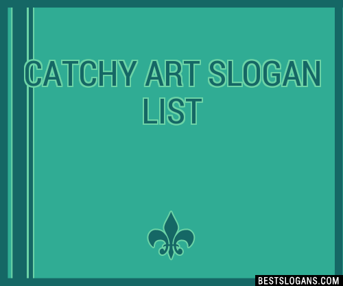 catchy art titles