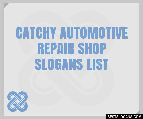 30+ Catchy Automotive Repair Shop Slogans List, Taglines