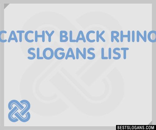 Food Slogans In Hindi: 30+ Catchy Black Rhino Slogans List, Taglines, Phrases