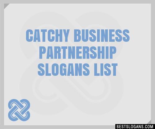 30+ Catchy Business Partnership Slogans List, Taglines