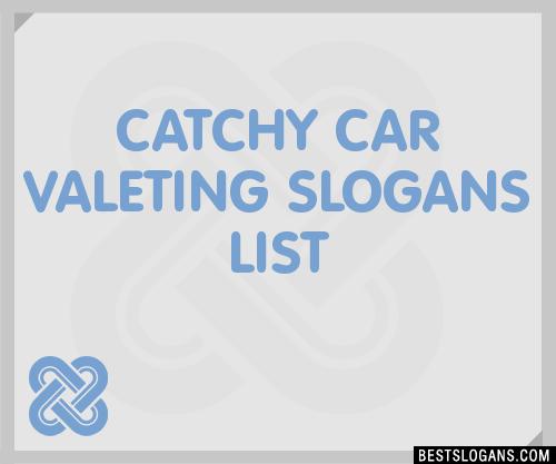 Car Valeting Company Names
