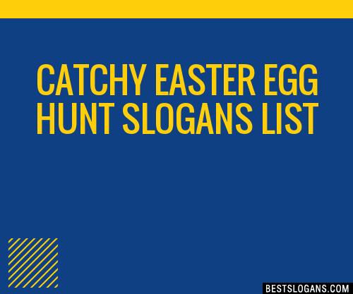 30 Catchy Easter Egg Hunt Slogans List Taglines Phrases