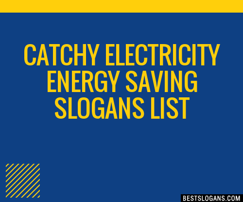 ENERGY SAVING SLOGANS PDF