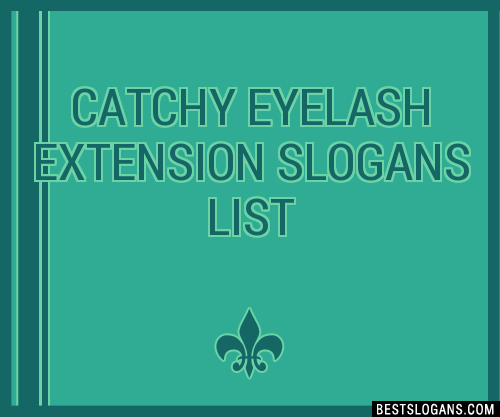 Advertising Eyelash Extension